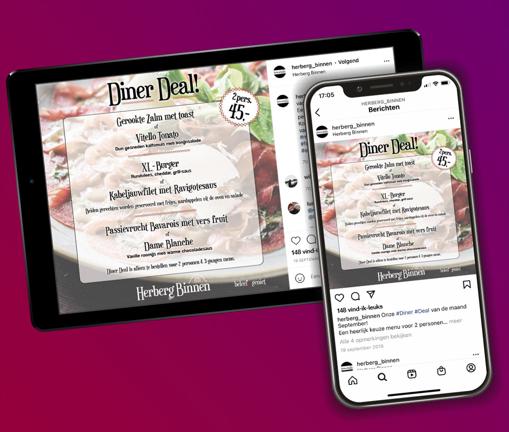 Targad-HerbergBinnen-Social-Media-DinerDeal
